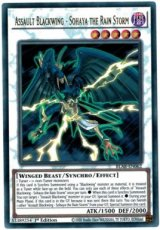 Assault Blackwing - Sohaya the Rain Storm - BLAR-EN062 - Ultra Rare 1st Edition
