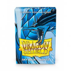 Dragon Shield Small Sleeves - Japanese Matte Sky Blue
