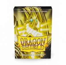 Dragon Shield Small Sleeves - Japanese Matte Yello Dragon Shield Small Sleeves - Japanese Matte Yellow (60 Sleeves)