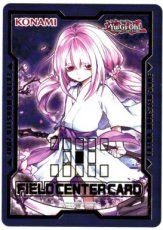 Yugioh Duel Devastator - Ghost Reaper & Winter Cherries Field Center Card