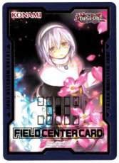 Yugioh Duel Devastator - Ghost Sister & Spooky Dogwood Field Center Card