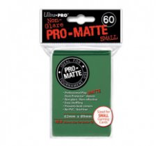 Sleeves Pro-Matte Green Small (60 Sleeves)