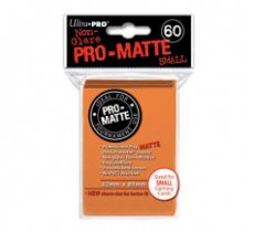 Sleeves Pro-Matte Orange Small (60 Sleeves)