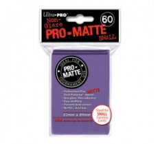 Sleeves Pro-Matte Purple Small (60 Sleeves)