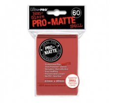 Sleeves Pro-Matte Red Small (60 Sleeves)